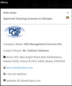 Auditor Training – DQS Ethiopia